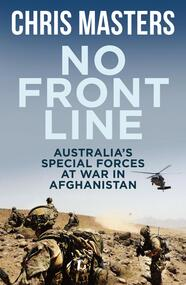 Book, No Front Lines-Australia Special Forces at War in Afghanistan
