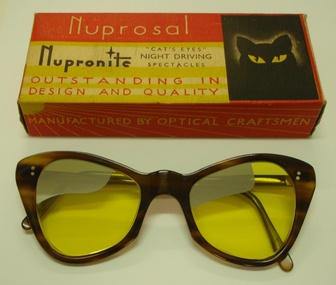 Spectacles, Nupro, 1950 (estimated)