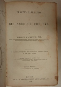 Book, A practical treatise on the diseases of the eye, 1854 (exact)