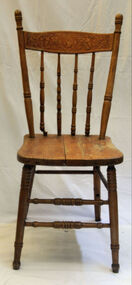 dining chair, from about 1906 until the 1930s