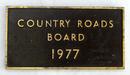 plaque: A heavy rectangular shaped bronze plaque