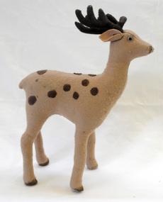 felt toy, 1950's