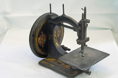 sewing machine, late 1860's - 1870's