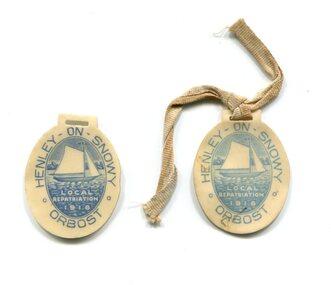 badges, 1918