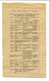 pamphlet, January 1870