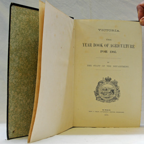 year book, Year Book of Agriculture 1905, 1905
