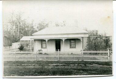 black and white photograph, November 9 1896
