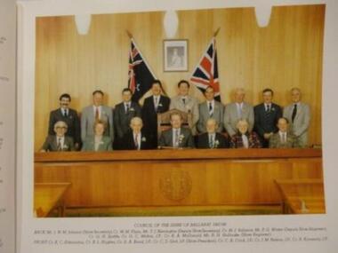 Photo, Council of the Shire of Ballarat 1987/88, Circa 1988