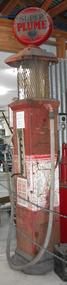 Petrol bowser, Super Plume, c1927