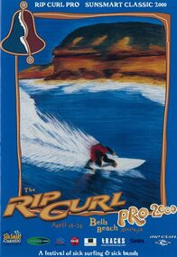 Programme, 2000 Rip Curl Pro / Sunsmart Classic at Bells Beach official contest guide, 01/03/2000