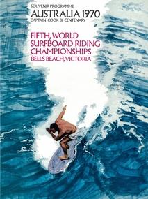 Programme, 1970 Fifth World Surfboard Riding Championships, Bells Beach, Victoria