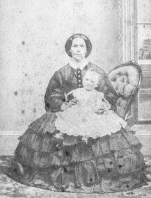 Photograph, Mrs. Pett and Charlotte