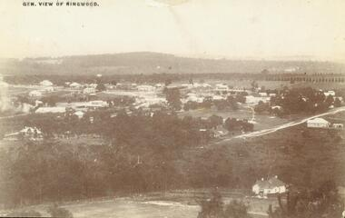 Photograph, Front and back images of postcard mailed in Ringwood, 1912