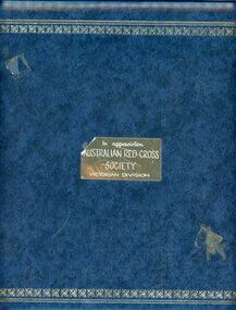 Album, Australian Red Cross Society -Victorian Division, 1976-1989