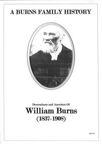 Book, A Burns Family History, 2019