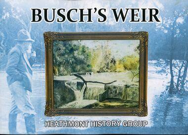 Book, Busch's Weir, 2019