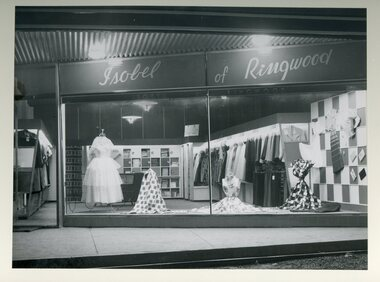 Photographs / Album, Official opening of the Ringwood Shopping Centre by Sir John Allison - 6th July 1954