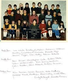 Photograph, Southwood Primary School Grade 1, 1983, Class photo