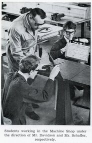 Photograph, Ringwood Technical School Students in Machine Shop