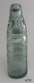 Domestic object - Bottle, E. Rowlands, 1921