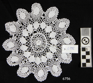 Textile - Doily, Mary Jane Giles (Mrs Harry Giles), Late 19th to Early 20th Century