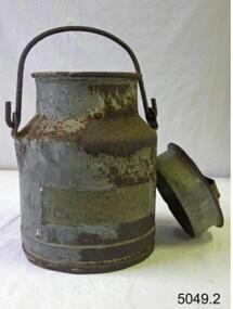 Domestic object - Cream Can, Malleys Ltd, 1920-1950