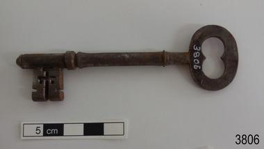 Functional object - Key, circa 1866