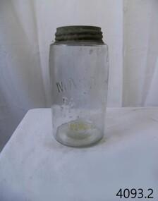 Container - Fruit Preserving Jar, John Landis Mason, 1858-1910