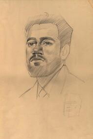 Drawing - Drawings, Life Drawing with markings by tutor Geoffrey Mainwaring