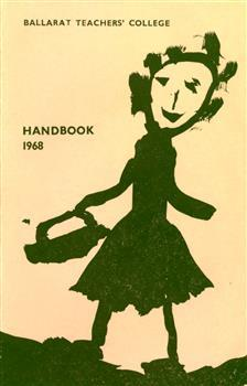 Book cover with child's drawing of a woman in a dress
