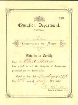 white certificate