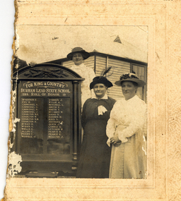 Photograph - Black and White, Durham Lead Roll of Honour, 26/10/1917