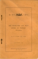 The Highlands and Main Divide of Western Victoria, 1907