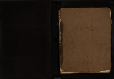Book, Circluars of the Ballarat School of Mines, 1884-1887