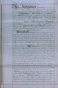 Document, Lease for the Former Ballarat Circuit Court House, Lydiard Street, Ballarat, 1870 and 1877, 05/1870; 1877