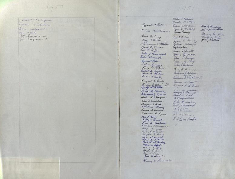 book ballarat teachers college exies roll ledger for 1949