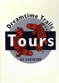 Poster, Aboriginal Dreamtime Trails Tours, Ballarat