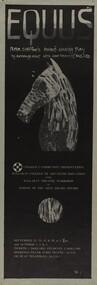 "Poster, Ballarat College of Advanced Education: ""Equus"""