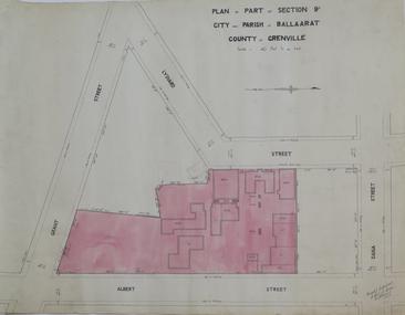 Plan, Plan of Part of Section 9A City and Parish of Ballarat, 1933