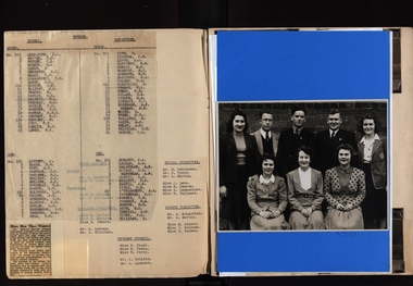 Page from a scrapb book