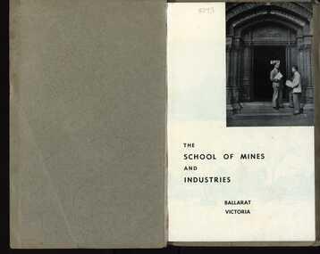 Booklet, Ballarat School of Mines and Industries Prospectus, 1955