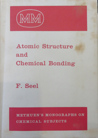 Book, Atomic Structure and Chemical Bonding, 1963