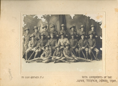 A group of cadets