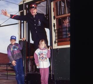 Photograph, Bendigo Tourist Tram, c1990