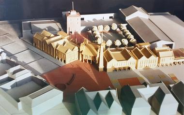Photograph, Ballarat School of MInes Architectual Model