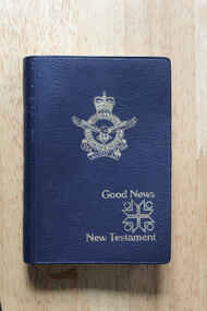 Book - Bible, Royal Australian air Force Pocket  Bible, fourth edition 1976