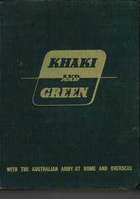Book, Khaki and Green, 1943
