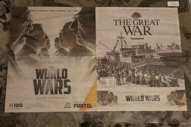 Article - 100 Year Anniversary  - Sunday Mail - The Great War (Foxtel - History Chanel), Pay TV Feature