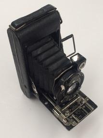 Memorabilia - Camera and case, No.1 Pocket Kodak Special, 1922 to 1931