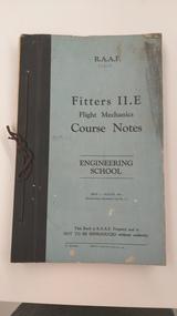 Memorabilia - Text book for trainee mechanics, Fitters II.E, Flight Mechanics, Course Notes